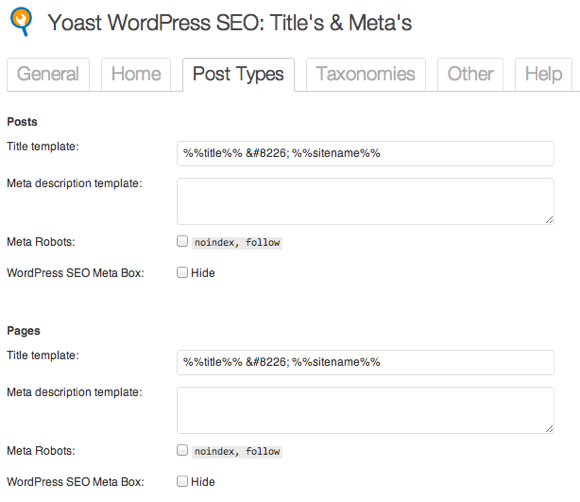 SEO Plugin by Yoast