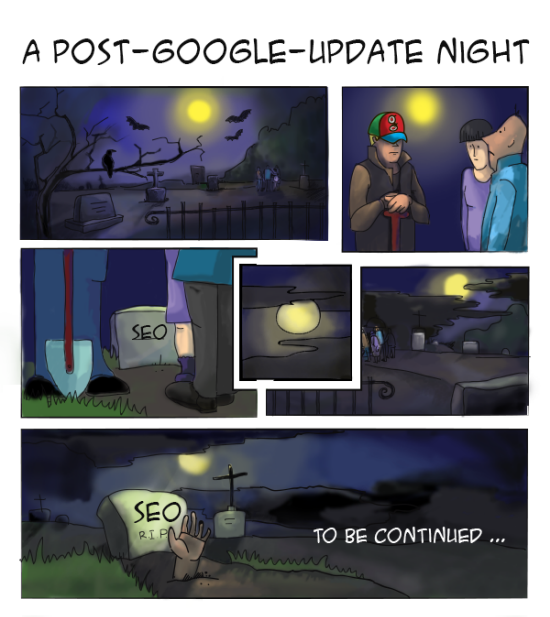 google-update-seo-is-dead-comics