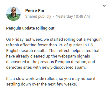 Pierre Far announce