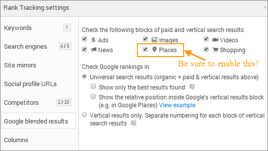 google-places-rankings