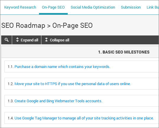 seo-roadmap