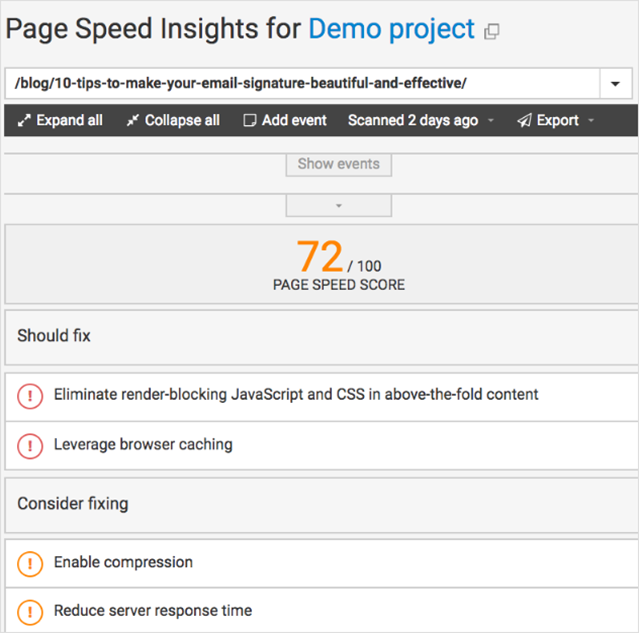 page-speed-webceo