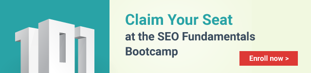 Apply for this SEO training course here