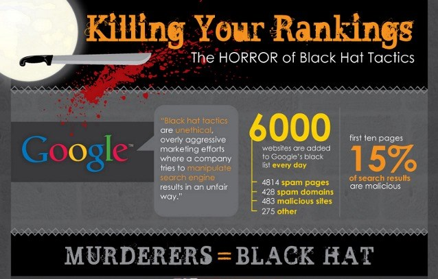 Black hat SEO can and will hurt your small business.