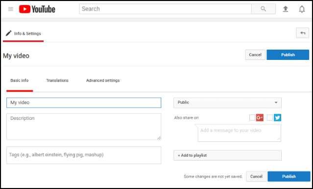 YouTube SEO begins before you even upload the video.