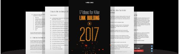 Link Building Checklist 2017