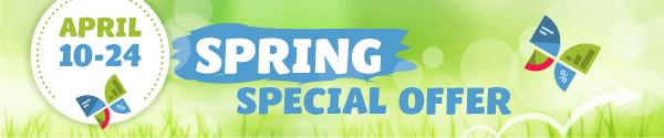 WebCEO Spring Offer