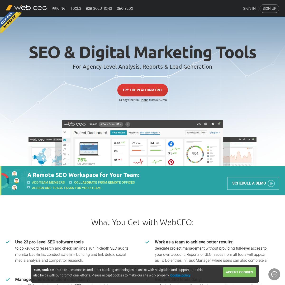 Agency SEO Tools - White-Label Digital Marketing Platform